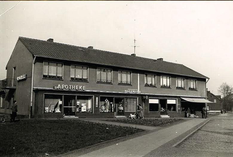Schwanhilden Apotheke 1955